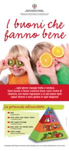 Campagna di educazione e sensibilizzazione alla corretta alimentazione, rivolta ai bambini della scuola primaria della Regine Sardegna