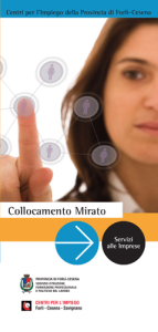 Campagna informativa sui servizi dei Centri per l'Impiego della Provincia di Forlì-Cesena