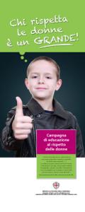 Campagna di educazione al rispetto delle donne, rivolta ai bambini della Regione Sardegna