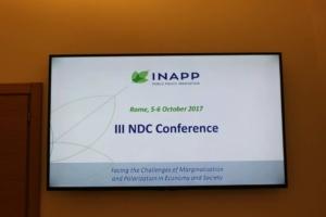 INAPP - III NDC Conference - 1